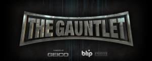 Gauntlet Title Treatment